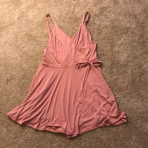 NWT light pink/rose urban outfitters skort romper